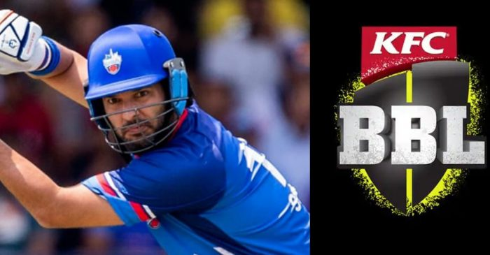 Yuvraj Singh in good position to become the first Indian cricketer to feature in Big Bash League (BBL)