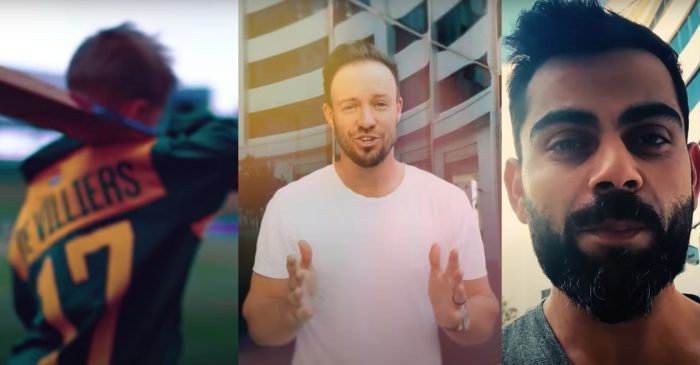 AB de Villiers releases his new music video featuring Virat Kohli, Yuzvendra Chahal and Proteas stars