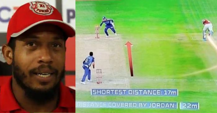 IPL 2020: KXIP's Chris Jordan explains his weird attempt of taking the second run against MI