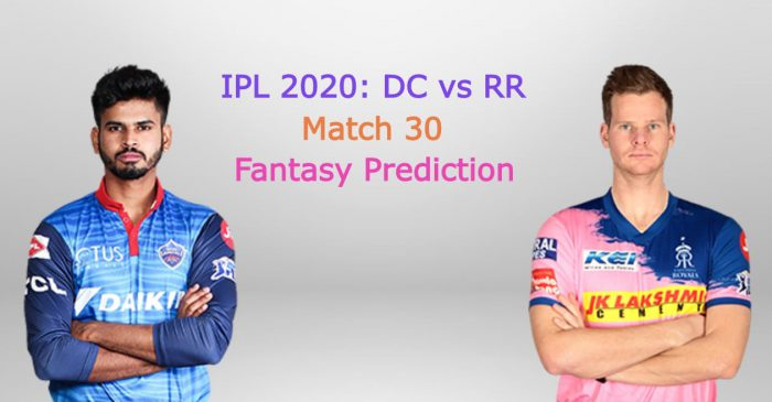 IPL 2020, Match 30: Delhi Capitals vs Rajasthan Royals – Fantasy Tips, Playing XI, Pitch & Weather Report