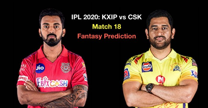 IPL 2020, Match 18: Kings XI Punjab vs Chennai Super Kings – Fantasy Cricket Tips, Playing XI & Pitch Report