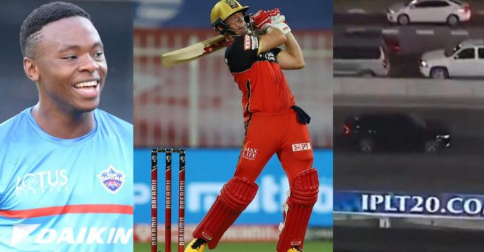 IPL 2020: Kagiso Rabada responds hilariously as AB de Villiers hits a moving car outside Sharjah stadium