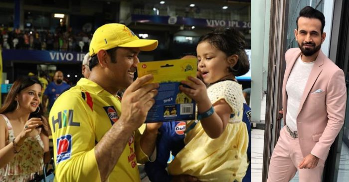 IPL 2020: MS Dhoni's daughter, family of other CSK players get violent threats; Irfan Pathan reacts