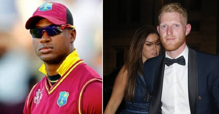 Marlon Samuels makes disgusting comments on Ben Stokes and his wife Clare