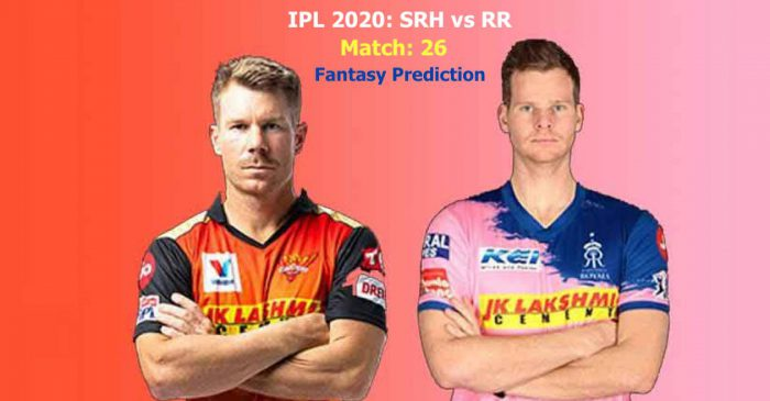 IPL 2020, Match 26: Sunrisers Hyderabad vs Rajasthan Royals – Fantasy Tips, Playing XI & Telecast details