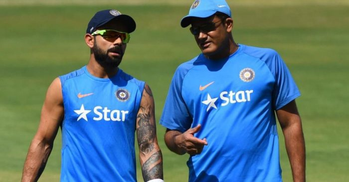 Virat Kohli wishes Anil Kumble on latter's birthday; gets hilariously trolled by users on Twitter