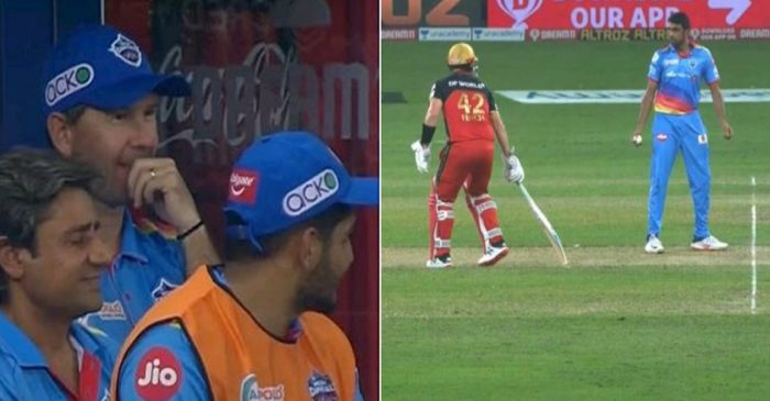 IPL 2020: WATCH – Ravichandran Ashwin warns Aaron Finch during DC's match against RCB; Ricky Ponting smiles