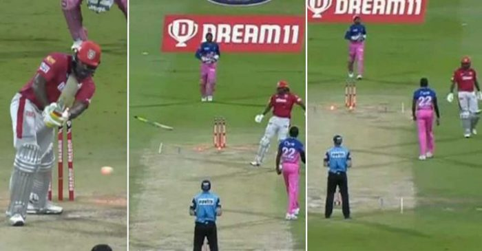 IPL 2020: KXIP's Chris Gayle cops fine for flinging his bat in frustration after getting out on 99