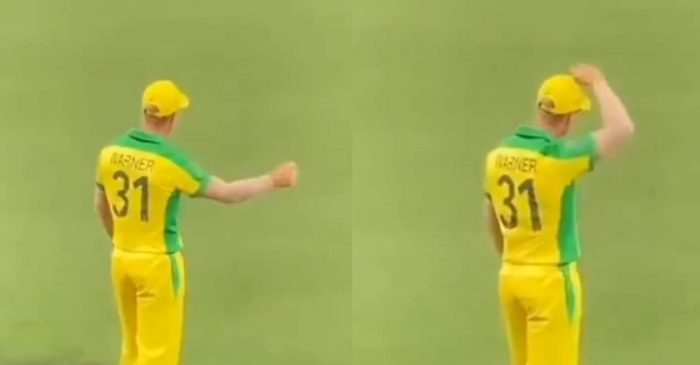 AUS vs IND: WATCH – David Warner entertains fans with his dance moves on 'Butta Bomma' song