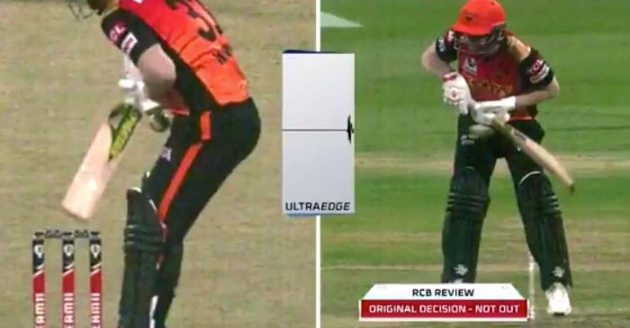 IPL 2020: WATCH – David Warner's dismissal on review sparks another umpiring controversy