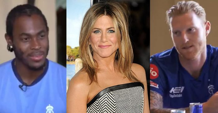"Ben Stokes names Jennifer Aniston as his celebrity crush, Jofra Archer asks ""Who's that?"", fans go crazy"