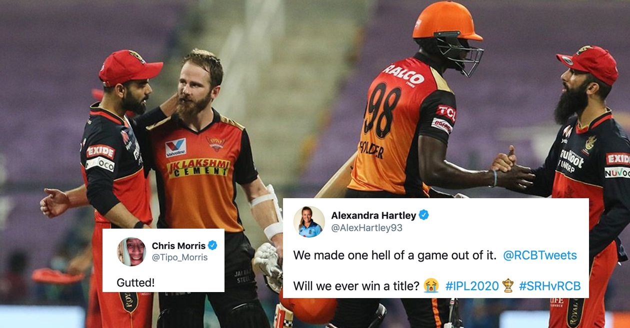 Twitter Reactions: Jason Holder and Kane Williamson 'Play Bold' to eliminate RCB from IPL 2020