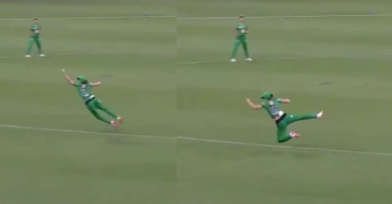 WATCH: Natalie Sciver takes a one-handed blinder to dismiss Tammy Beaumont in Women's Big Bash League