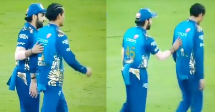 IPL 2020 – WATCH: Rohit Sharma's heartfelt gesture for young Rahul Chahar after MI's impressive win over DC
