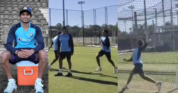 WATCH: T Natarajan bowls in nets for the first time after his maiden India call-up