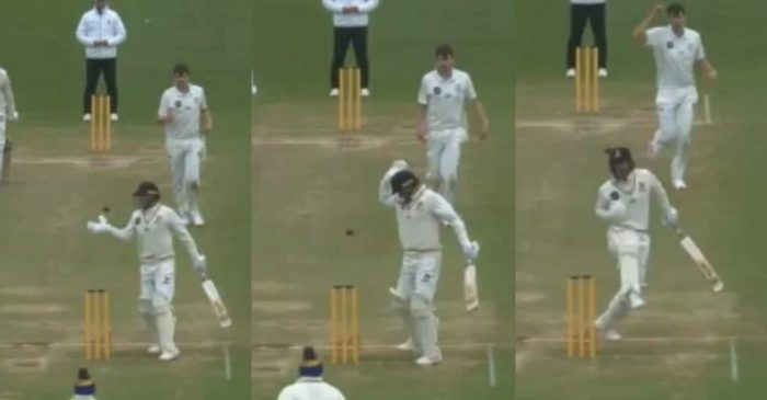 WATCH: Kiwi Test opener Tom Blundell given out 'obstructing the field' during a Plunket Shield match