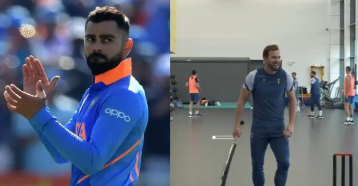 Virat Kohli responds after football star Harry Kane asks for a place in the RCB squad