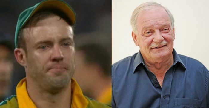 AB de Villiers, JP Duminy and others mourn the death of England legend Robin Jackman