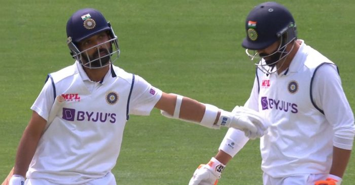 AUS vs IND: Ajinkya Rahane wins hearts with his gesture towards Ravindra Jadeja after getting run out