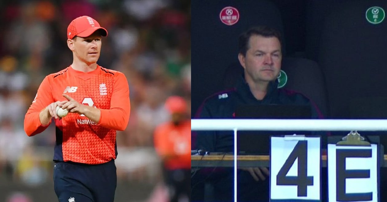 SA vs ENG: Eoin Morgan gets 'coded information' from England's dressing room during 3rd T20I