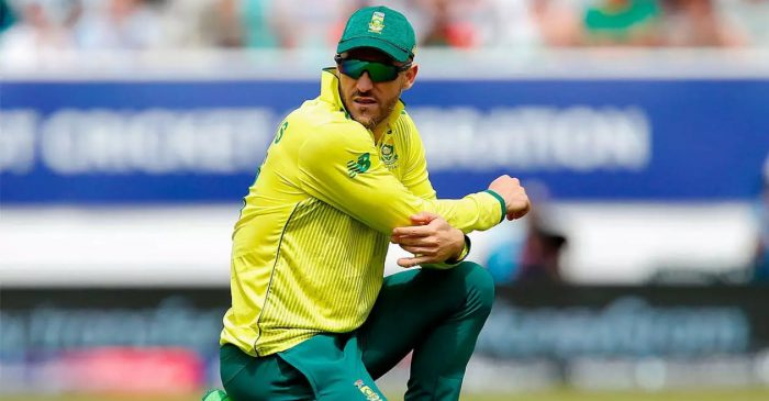South Africa batsman Faf du Plessis rested for England ODIs