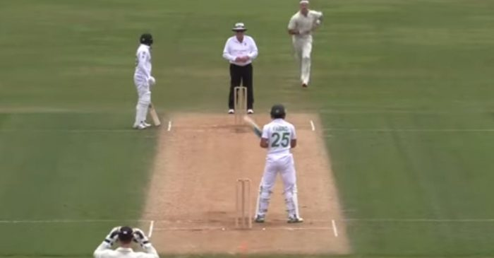 Pakistan's Fawad Alam smashes a brilliant ton against New Zealand A with an infamous stance