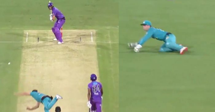 WATCH: Brisbane Heat's Lewis Gregory bowls the worst delivery of BBL 2020-21