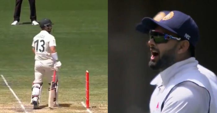 AUS vs IND: WATCH – Rishabh Pant, Matthew Wade engage in hilarious banter in MCG Test