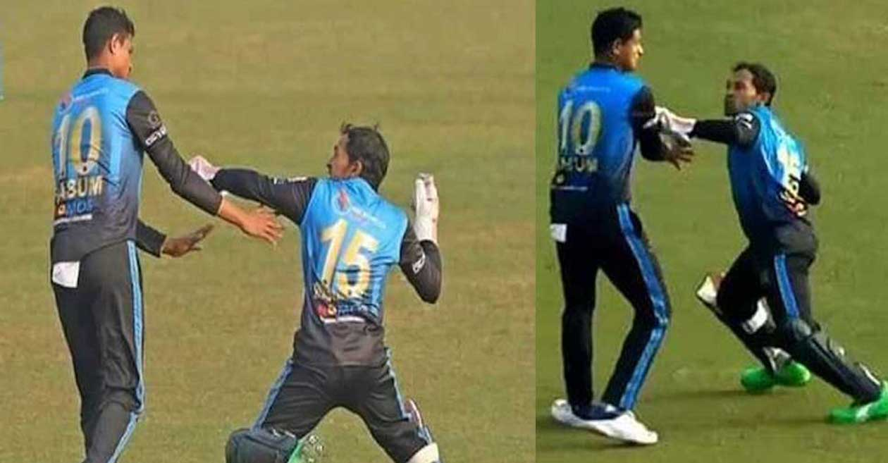 Mushfiqur Rahim fined after an angry confrontation with his teammate Nasum Ahmed in Bangabandhu T20 Cup