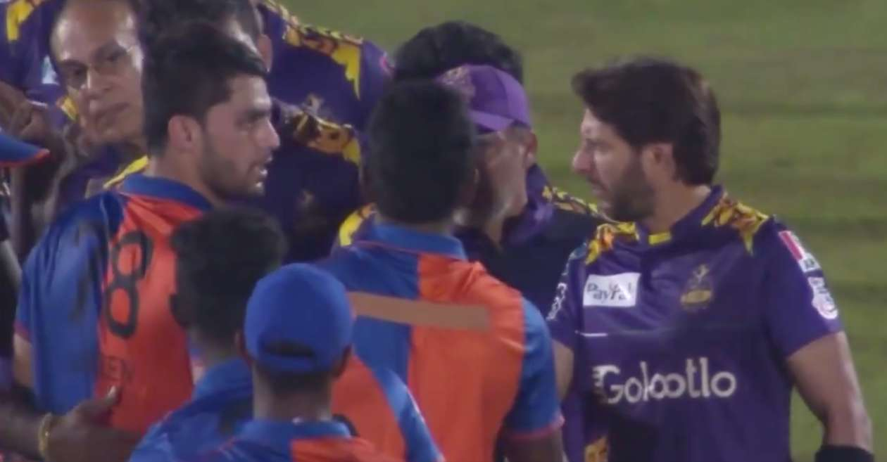 LPL 2020: Mohammad Amir reveals what Shahid Afridi told Naveen-ul-Haq after their verbal spat