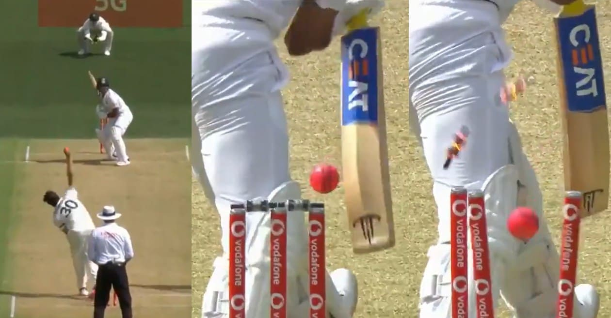 AUS vs IND: WATCH – Pat Cummins cleans up Mayank Agarwal with peach of a delivery