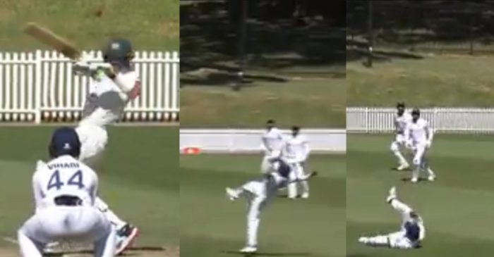 AUS A vs IND A: WATCH – Prithvi Shaw takes a one-handed stunner to dismiss Tim Paine in the warm-up game