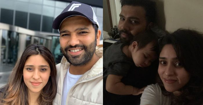 Rohit Sharma and Ritika Sajdeh come up with special messages for each other on their 5th marriage anniversary