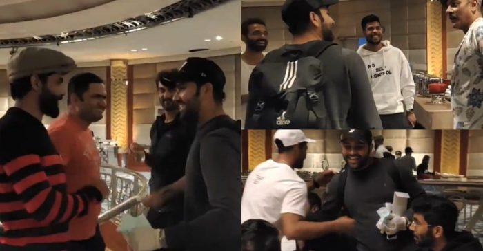 WATCH: Rohit Sharma gets warm welcome after he joins Team India squad