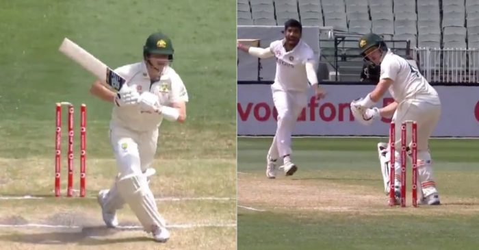 AUS vs IND – WATCH: Jasprit Bumrah castles Steve Smith behind his legs on Day 3 of 2nd Test