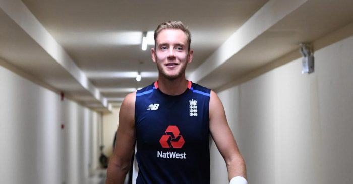 Stuart Broad reacts hilariously after reclaiming No.2 spot in ICC Test rankings