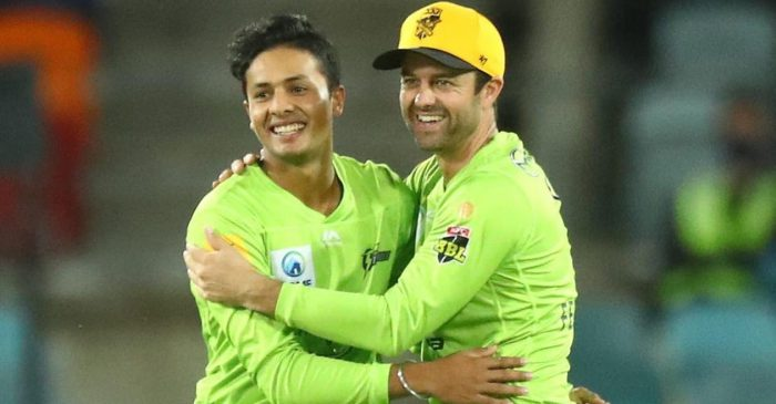 Twitter reactions: Tanveer Sangha steers Sydney Thunder to a massive win over Melbourne Renegades