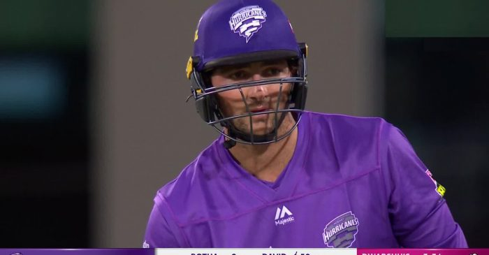 Twitter Reactions: Tim David, bowlers guide Hobart Hurricanes to victory in the BBL 10 opener
