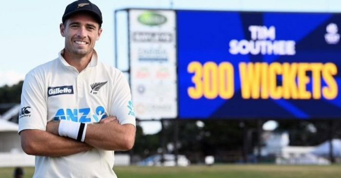 Tim Southee completes 300 wickets in Test cricket; enters the elite club of New Zealand bowlers