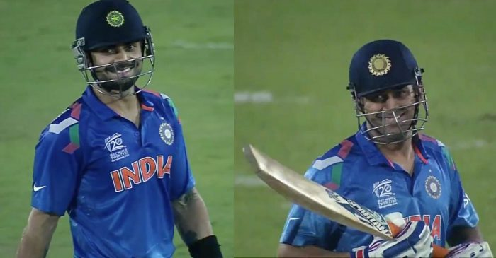 ICC shares the video of MS Dhoni's sweet gesture for Virat Kohli during the 2014 T20 World Cup