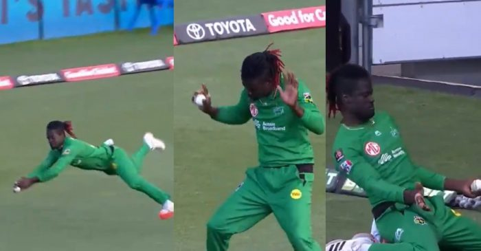 BBL 2020-21: WATCH – Andre Fletcher wears dancing shoes after grabbing two screamers