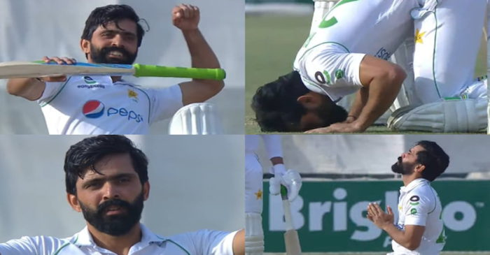 Twitter reactions: Fawad Alam enters an elusive club after scoring his third Test century