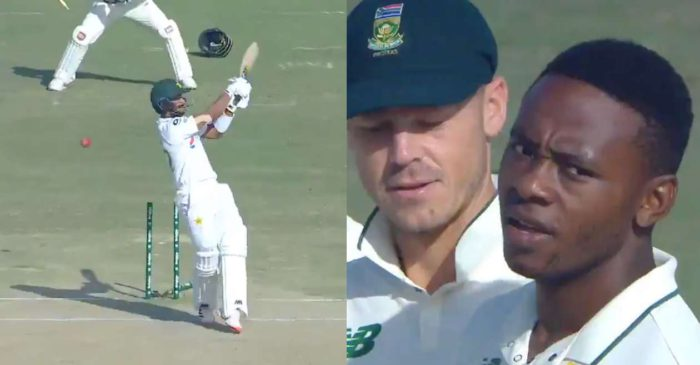 PAK vs SA – WATCH: Kagiso Rabada uproots Hasan Ali's middle-stump to complete 200 Test wickets