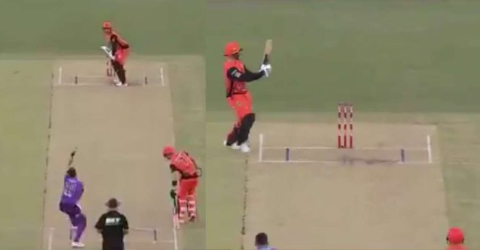 WATCH – 'Oh No': Jason Roy shouts after playing an innovative scoop against Hobart Hurricanes in BBL 10