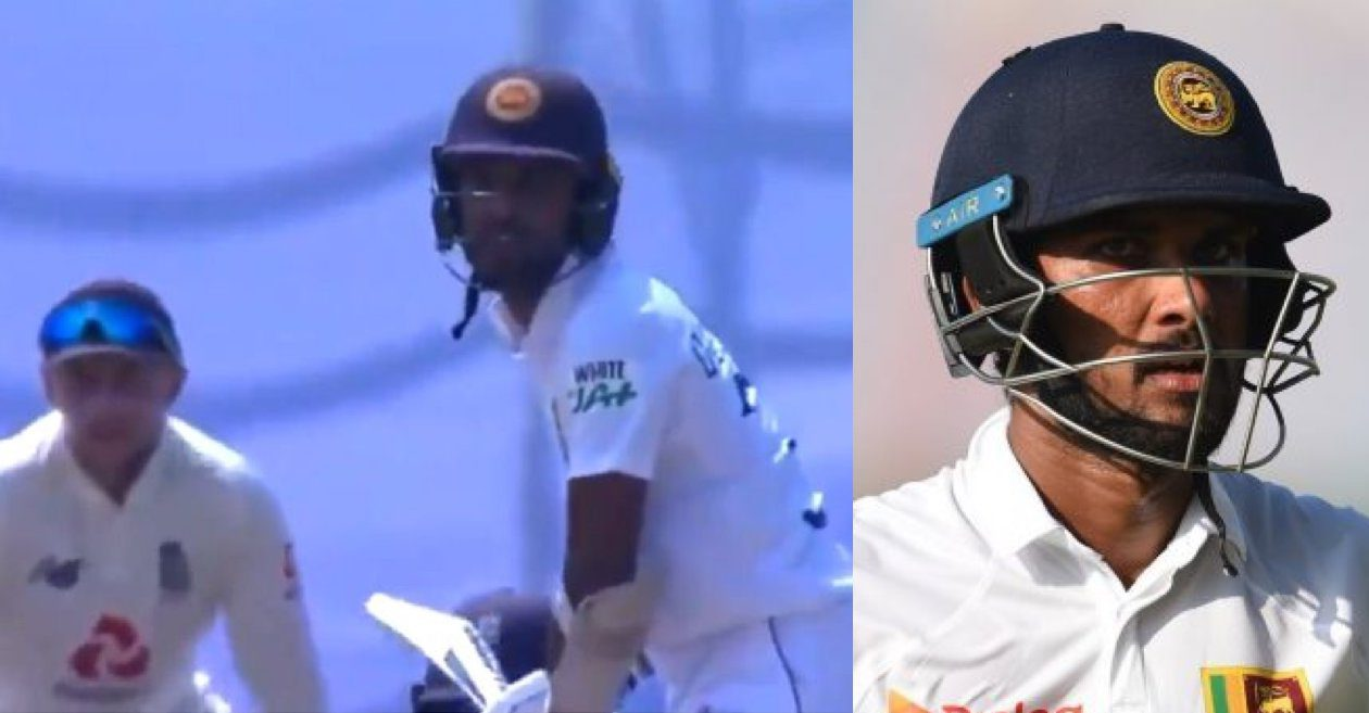 WATCH: Dinesh Chandimal throws away his wicket after Joe Root sledges him in Galle Test