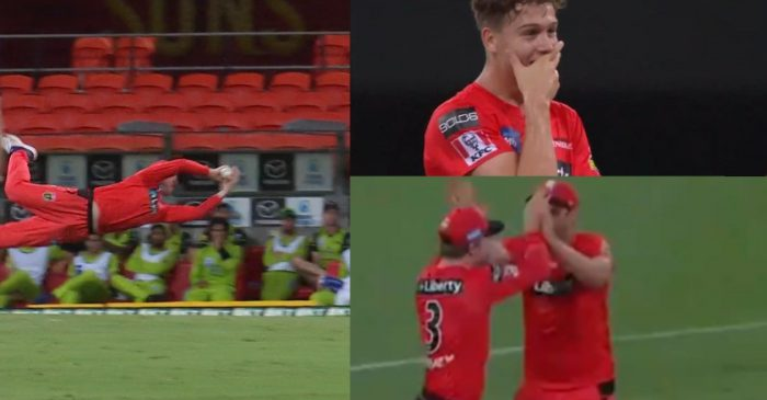 WATCH: Mackenzie Harvey takes a jaw dropping catch to dismiss Alex Hales in BBL 2020-21