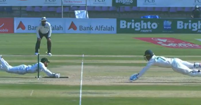 PAK vs SA: WATCH – Mohammed Rizwan does a Jonty Rhodes to dismiss Rassie van der Dussen