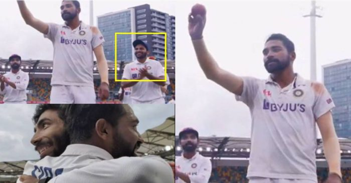 WATCH: Mohammed Siraj gets a standing ovation from teammates after his maiden five-wicket haul at the Gabba