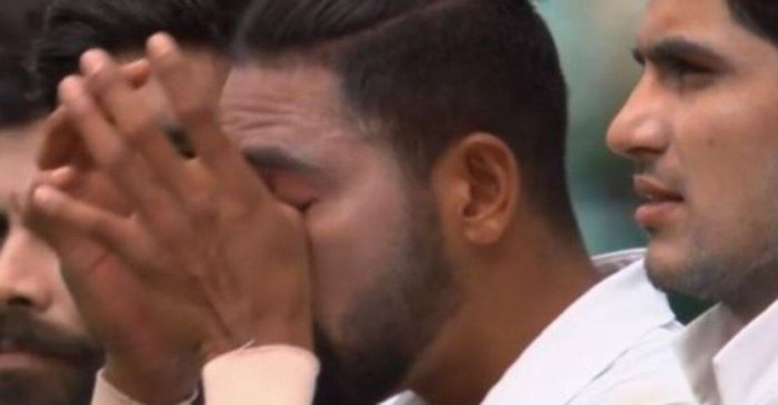 AUS vs IND: WATCH – Mohammed Siraj gets emotional while singing the national anthem during 3rd Test