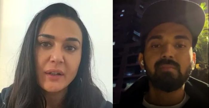 Fan demands Preity Zinta to exclude this STAR player from KXIP during her Instagram live with KL Rahul